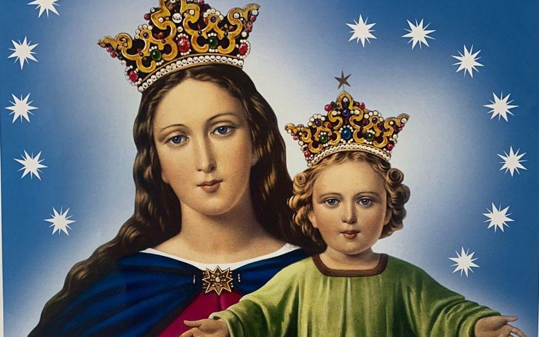 Mes de Mayo. Mes de María Auxiliadora. Mes Salesiano,